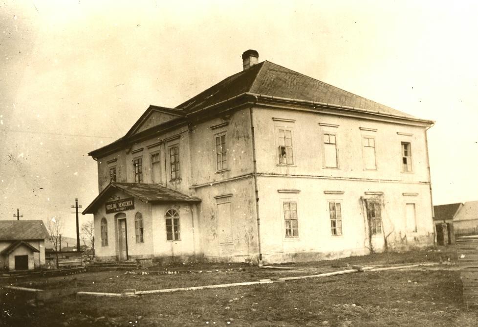 založenie nemocnice, prvým riaditeľom sa stal MUDr. Karol Hofmann