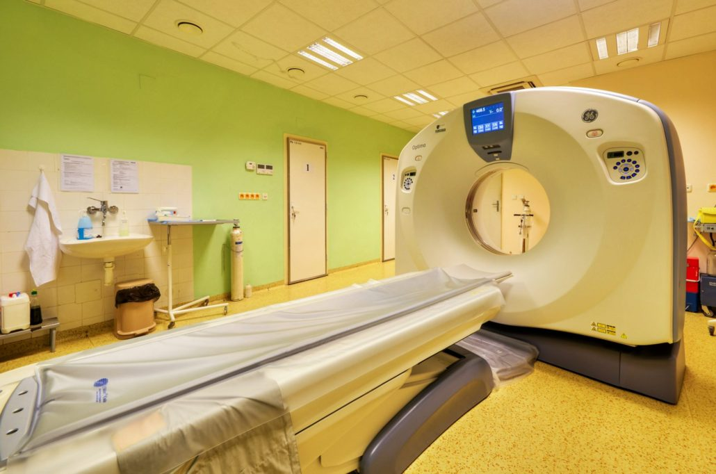 zakúpený nový CT prístroj