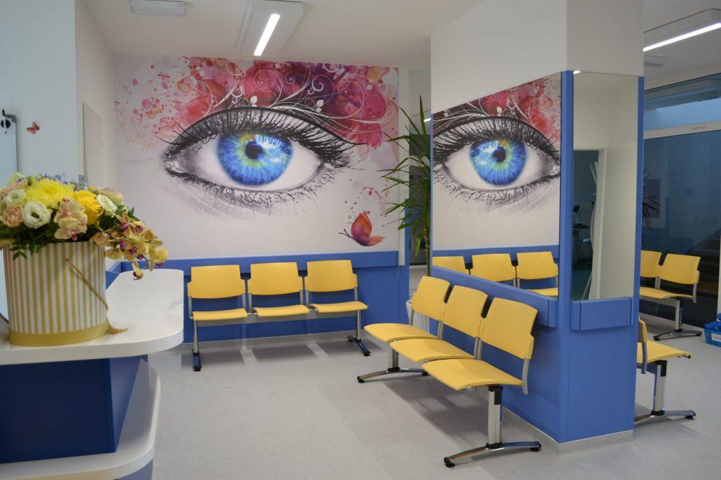 otvorenie novej JZS oftalmologickej v pavilóne J