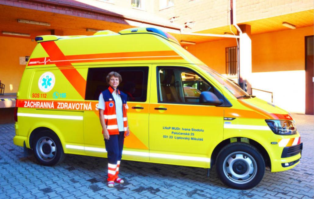 záchranári RLP dostali úplne novú sanitku