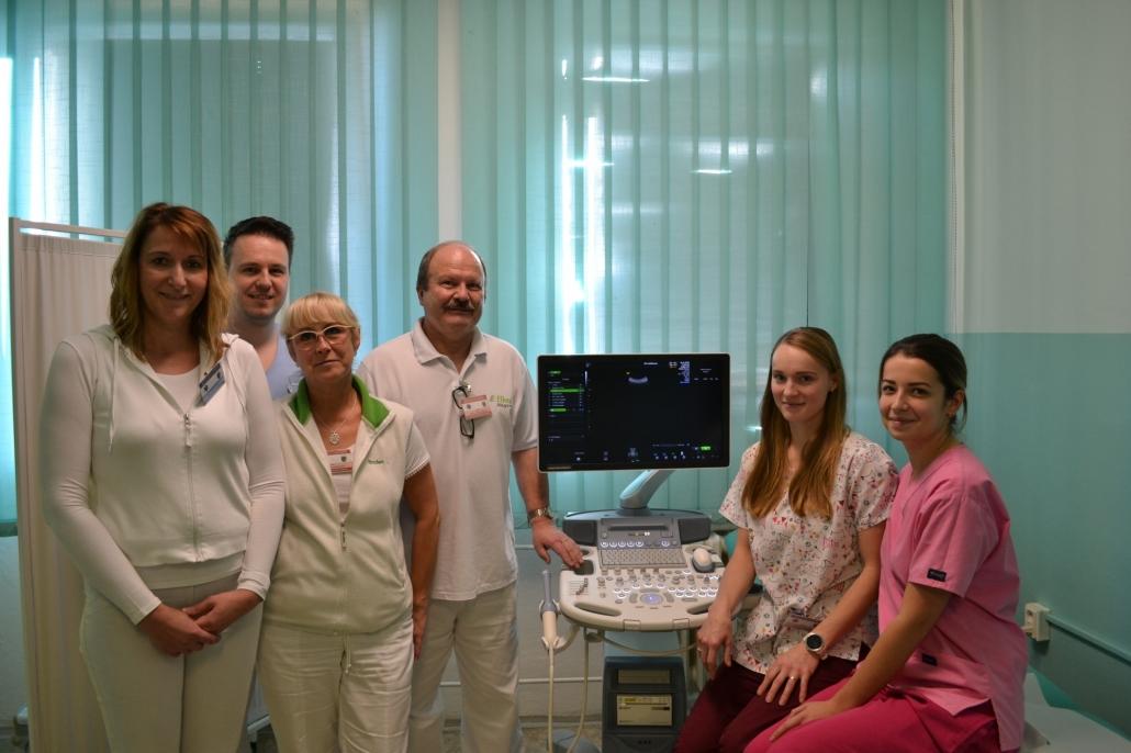 zakúpenie nového USG prístroja pre gynekologické oddelenie