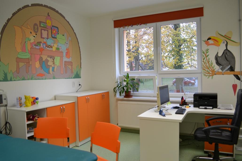 detská kardiologická ambulancia sa presťahovala do nových priestorov v pavilóne J